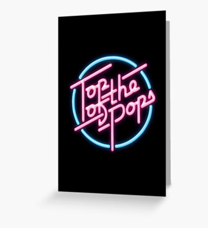 Top of the Pops 1981-1986 Greeting Card