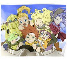Chrono Friends Poster