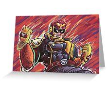 Captain Falcon Greeting Card