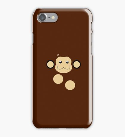 Mega Man Legends Data The Monkey pattern. (UNOFFICIAL) iPhone Case/Skin