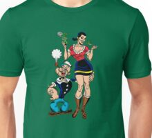 Eat Spinach Like Popeye Unisex T-Shirt