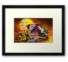 Chrono Figther Framed Print