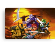 Chrono Figther Canvas Print