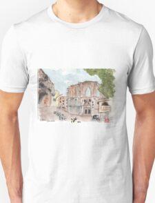 Barcelona El Born Urban Sketch Unisex T-Shirt