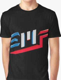 EMF Electro Beach Festival Black Graphic T-Shirt