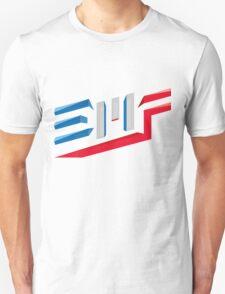 EMF Electro Beach Festival Black Unisex T-Shirt