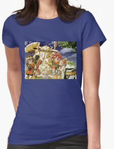 Chrono Family Womens Fitted T-Shirt