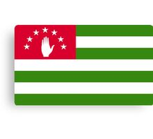 Abkhazia Flag Canvas Print