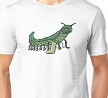 Broken Leg Caterpillar Unisex T-Shirt