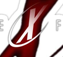 The x File Sticker