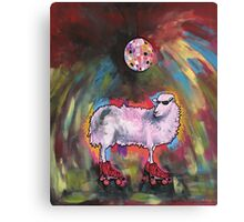 Disco Sheep Canvas Print