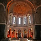 Cathedral of St Sava, Belgrade, Serbia, interior by Margaret  Hyde