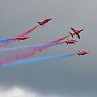 Hawk T1A  Red Arrows  by Declan Carr