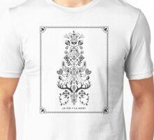 La Vie + La Mort: Black Ink Unisex T-Shirt