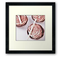 Decadent Dessert Framed Print