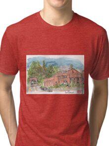 Natatorium in Point Richmond, CA Tri-blend T-Shirt
