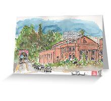 Natatorium in Point Richmond, CA Greeting Card