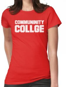 Community College- misspelled Womens Fitted T-Shirt