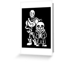Undertale video game T-Shirt  Greeting Card