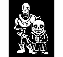 Undertale video game T-Shirt  Photographic Print