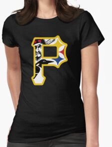 Pride of Pittsburgh  Womens Fitted T-Shirt