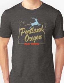 Portland Oregon - Made in Oregon Sign Unisex T-Shirt