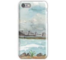 A view of San Francisco from the Richmond Shoreline iPhone Case/Skin