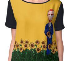 Vincent van Gogh Chiffon Top