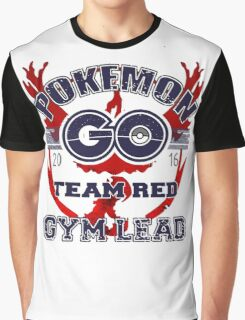 Team Red - Gym Lead Graphic T-Shirt