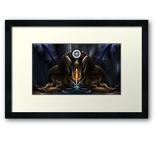Cyritous, Temple Of The Orb Of Karinos Framed Print