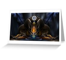 Cyritous, Temple Of The Orb Of Karinos Greeting Card
