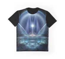 Seat Of The Gods Fractal Art Graphic T-Shirt