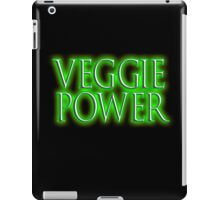 Vegetarian, VEGGIE, Veggie Power, Vegetarianism, Vegan, Vegetables iPad Case/Skin