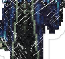 Death Vintage Pixels from SOTN  Sticker