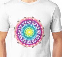 Colorful mandala universe Unisex T-Shirt