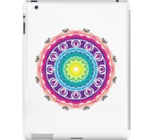 Colorful mandala universe iPad Case/Skin