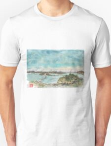 A view of San Francisco Bay Unisex T-Shirt