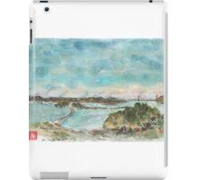 A view of San Francisco Bay iPad Case/Skin
