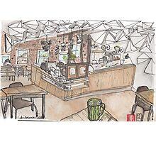 Kaleidoscope Coffee Sketch Photographic Print