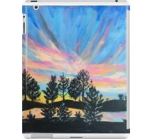 Oban sunset iPad Case/Skin