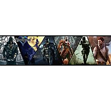Multi PS3 Games Photographic Print