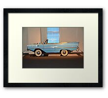 One if by land, two if by sea Framed Print