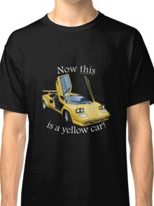 Now this is a yellow car! Classic T-Shirt
