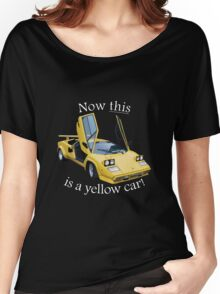 Now this is a yellow car! Women's Relaxed Fit T-Shirt