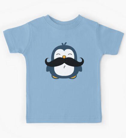Mustache Penguin Kids Tee