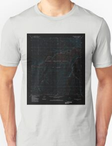 USGS TOPO Map Alaska AK Howard Pass D-1 356106 1984 63360 Inverted Unisex T-Shirt