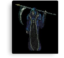 Death Vintage Pixels from SOTN  Canvas Print