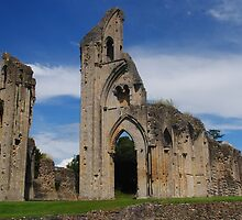 Glastonbury Abbey Ruins by Photography  by Mathilde