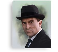 The Bohemian Holmes - Jeremy Brett Canvas Print
