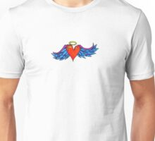 Winged heart Unisex T-Shirt
